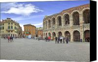 Verona Canvas Prints - Verona Canvas Print by Joana Kruse