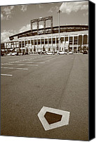 Robinson Canvas Prints - Citi Field - New York Mets Canvas Print by Frank Romeo
