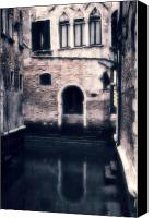 Dilapidated House Canvas Prints - Venezia Canvas Print by Joana Kruse