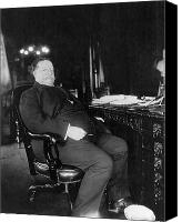 The White House Canvas Prints - William Howard Taft Canvas Print by Granger