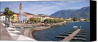 Swiss Canvas Prints - Ascona - Ticino Canvas Print by Joana Kruse