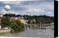 Charles Bridge Canvas Prints - Prague Canvas Print by Andre Goncalves