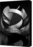 Spiral Staircase Canvas Prints - A Beautiful Twist Canvas Print by David Lee Thompson