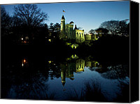 Belvedere Castle Canvas Prints - A Castle in Reflection Canvas Print by Cornelis Verwaal