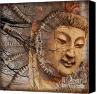 Asian Art Canvas Prints - A Cry Is Heard Canvas Print by Christopher Beikmann
