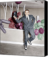 Gray Suit Canvas Prints - A Damsel In Distress, Fred Astaire, 1937 Canvas Print by Everett
