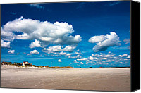Topsail Island Canvas Prints - A Day to Dream Canvas Print by East Coast Barrier Islands Betsy A Cutler