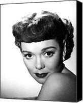 1949 Movies Canvas Prints - A Kiss In The Dark, Jane Wyman, 1949 Canvas Print by Everett
