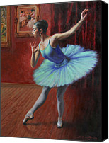 Dance Canvas Prints - A Legacy of Elegance Canvas Print by Anna Bain