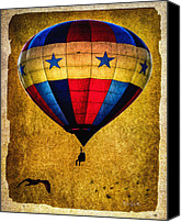 Pages Canvas Prints - A Man and his balloon Canvas Print by Bob Orsillo
