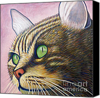 Cats Canvas Prints - A New Day Canvas Print by Brian  Commerford