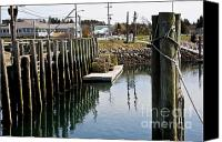 Cape Cod Scenery Canvas Prints - A Quiet Scene Canvas Print by Extrospection Art