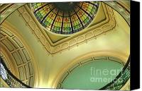 Architectural Detail Canvas Prints - A Room With A View Canvas Print by Sandra Bronstein