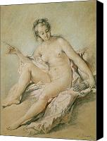 Nudes Canvas Prints - A study of Venus Canvas Print by Francois Boucher
