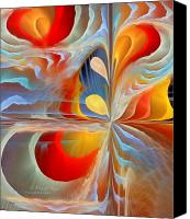 Apophysis Pastels Canvas Prints - A Time of Magic Canvas Print by Gayle Odsather