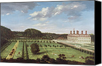 Manor Canvas Prints - A View of Bayhall - Pembury Canvas Print by Jan Siberechts