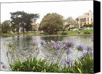 Flower Works Canvas Prints - A view of Palace of Fine Arts theatre San Francisco No five Canvas Print by Hiroko Sakai