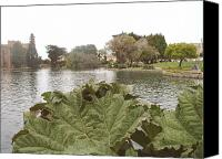 Flower Works Canvas Prints - A view of Palace of Fine Arts theatre San Francisco No six Canvas Print by Hiroko Sakai