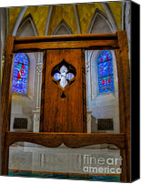 Cathedral Canvas Prints - A View To Saint Anns Chapel Canvas Print by Susan Candelario