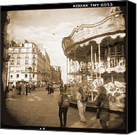 Lens Canvas Prints - A Walk Through Paris 4 Canvas Print by Mike McGlothlen