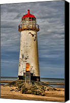 Light House Canvas Prints - Abandoned Canvas Print by Adrian Evans