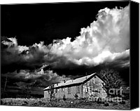 Arne J Hansen Canvas Prints - Abandoned Canvas Print by Arne Hansen