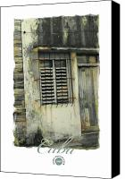 Habana Canvas Prints - Abandoned Canvas Print by Bob Salo