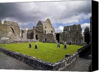 Monasticism Canvas Prints - Abbeyknockmoy, Cistercian Abbey Of Canvas Print by The Irish Image Collection