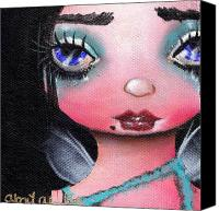 Fantasy Canvas Prints - Abi  Canvas Print by  Abril Andrade Griffith