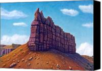 Mountain Canvas Prints - Abiquiu Canvas Print by Brian  Commerford
