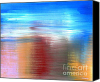Buy Painting Canvas Prints - Abstract 219 Canvas Print by Patrick J Murphy