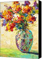 Marion Rose Canvas Prints - Abstract Boquet IV Canvas Print by Marion Rose