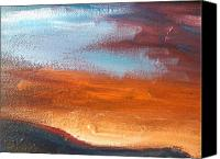 Rafael Gonzales Canvas Prints - Abstract Skies 3 Canvas Print by Rafael Gonzales
