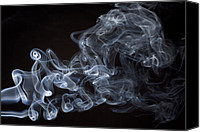 Magic Canvas Prints - Abstract smoke running horse Canvas Print by Setsiri Silapasuwanchai