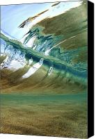 Wet Canvas Prints - Abstract Underwater 2 Canvas Print by Vince Cavataio - Printscapes