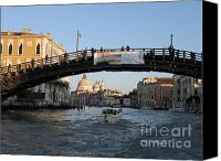 Pont Canvas Prints - Academia. VENICE Canvas Print by Bernard Jaubert