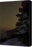 Acadia Canvas Prints - Acadia Stars 01 Canvas Print by Brent Ander