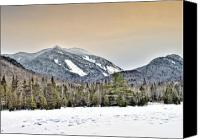 Damn Canvas Prints - Adirondack Mountains New York    HDR  Canvas Print by Brendan Reals