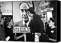 1950s Fashion Canvas Prints - Adlai Stevenson, Presidential Canvas Print by Everett