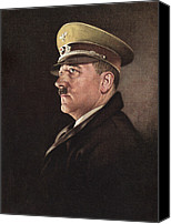 Adolf Canvas Prints - Adolf Hitler, Ca. 1930s Canvas Print by Everett