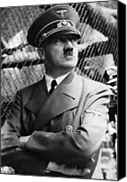 Adolf Canvas Prints - Adolf Hitler, Ca. Late 1930s Canvas Print by Everett