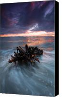 Neptune Canvas Prints - Adrift Canvas Print by Mike  Dawson