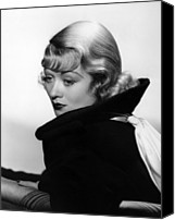 Bennett Canvas Prints - After Office Hours, Constance Bennett Canvas Print by Everett