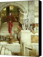 Appearance Canvas Prints - After the Audience Canvas Print by Sir Lawrence Alma-Tadema