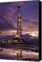 Driller Canvas Prints - After The Storm Canvas Print by Jonas Wingfield