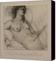 Nude Canvas Prints - After Titian Canvas Print by Gary Kaemmer