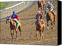 Sports Canvas Prints - Afterwards Canvas Print by East Coast Barrier Islands Betsy A Cutler