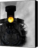 Locomotive Canvas Prints - Age of Steam No. 2 Canvas Print by Joe Bonita