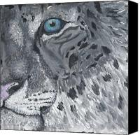 Bigcat Canvas Prints - Agility Canvas Print by Davis Elliott
