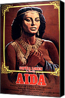 1953 Movies Canvas Prints - Aida, Sophia Loren, 1953 Canvas Print by Everett